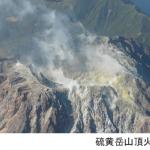 硫黄岳山頂火口